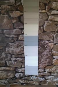 Plastic panel exterior