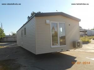 Talovaunu, husvogn, villavagnar, Estonia, July 2014