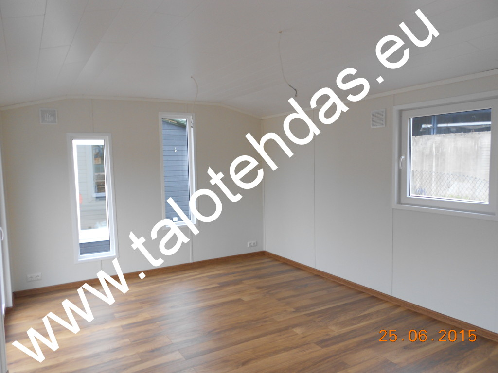 Mobile home, office 6,3 m x 4,0 m x 3,5 m