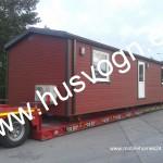 Talovaunu 45m2, 12m pitkä ja 3,8m leveä