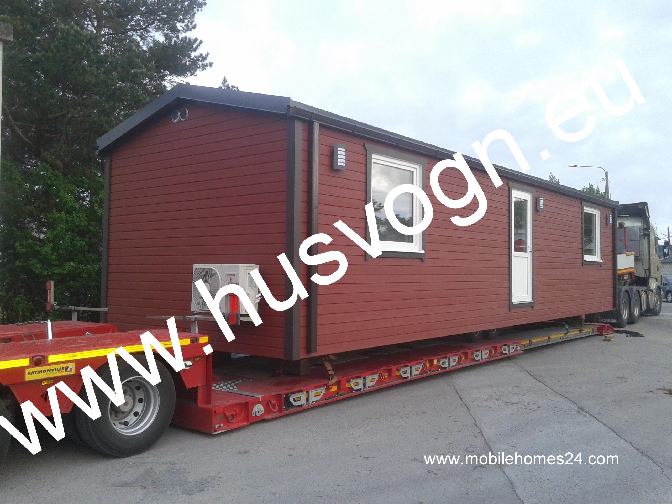 Talovaunu Virosta, talopaketti viHusvogn, husvogner, husvogner til salgs, Estland mobile homes in Estland