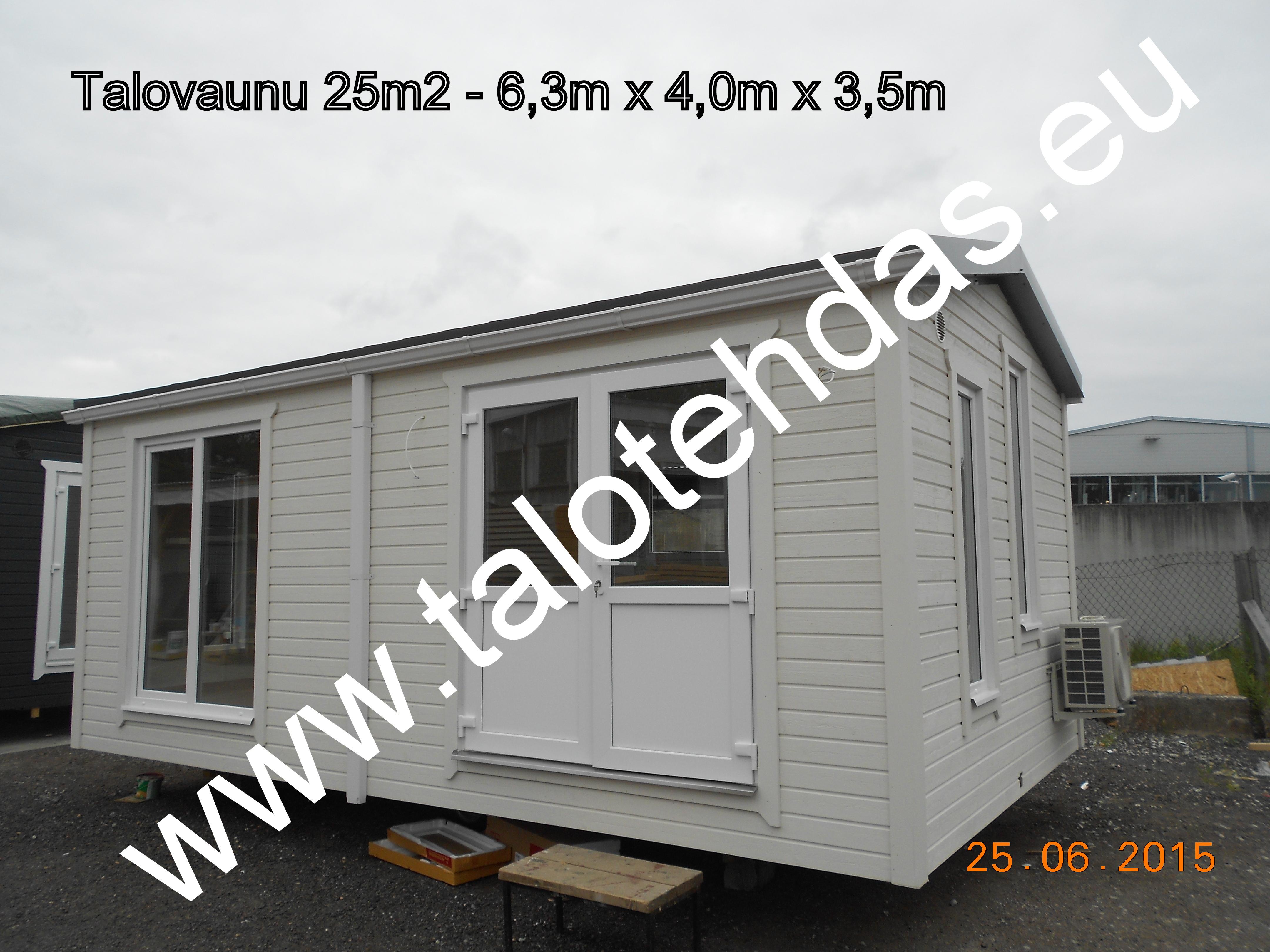 Talovaunu, talovaunut, talovaunu Virosta, talotehdas, ratastelkodu, työmaakoppi, toimisto, pyörillä talo.