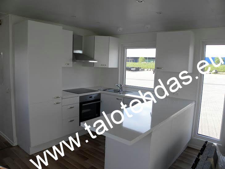 talovaunu keittiö mobile homes kitchen talotehdas eu