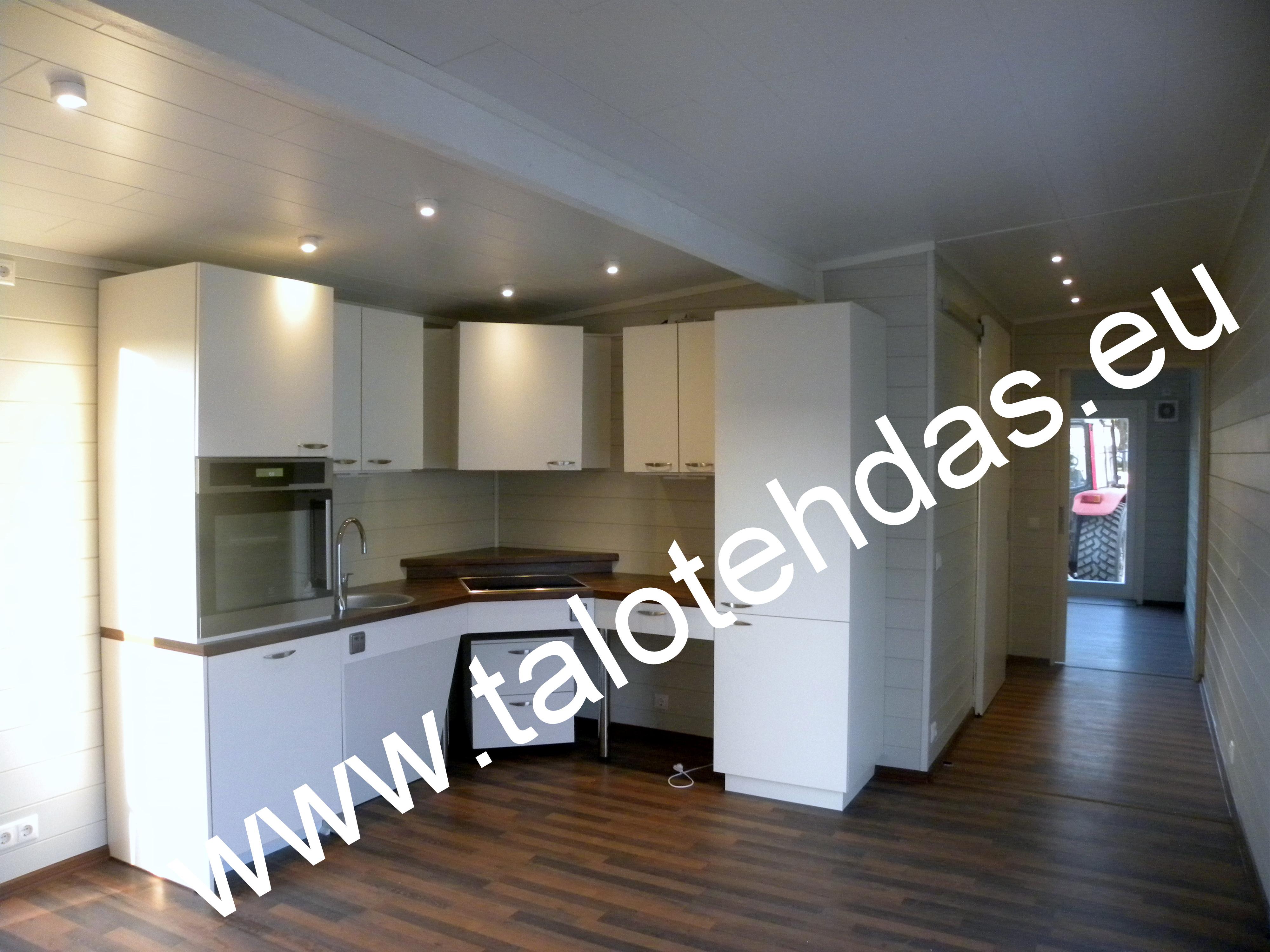Talovaunu keittiö - www.talotehdas.eu