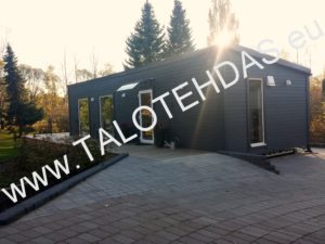 Mobile home, talovaunu 12x4,3, shed roof, husvogner, husvogn
