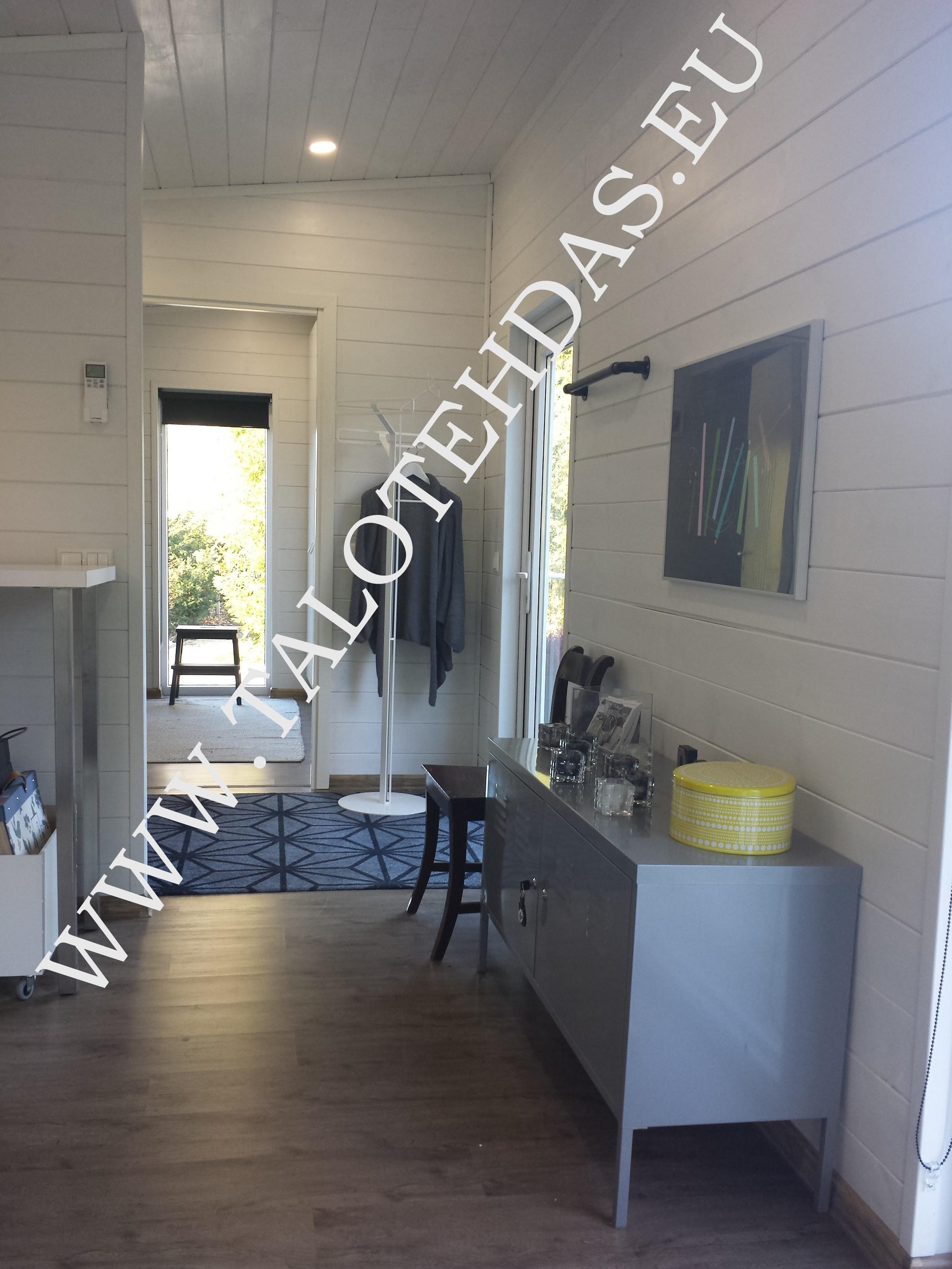 Talovaunu pulpettikatto 12x4,3, husvogn, static caravan, mobile home, shed roof