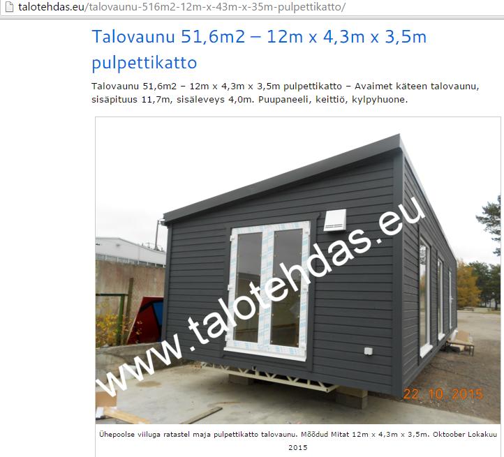 Talotehdas promo pildid, mobile homes, etusivu, ota yhteyttä, talovaunu, talovaunut, mobile home, talovaunu virosta, talopaketti, pulpettikatto talovaunu