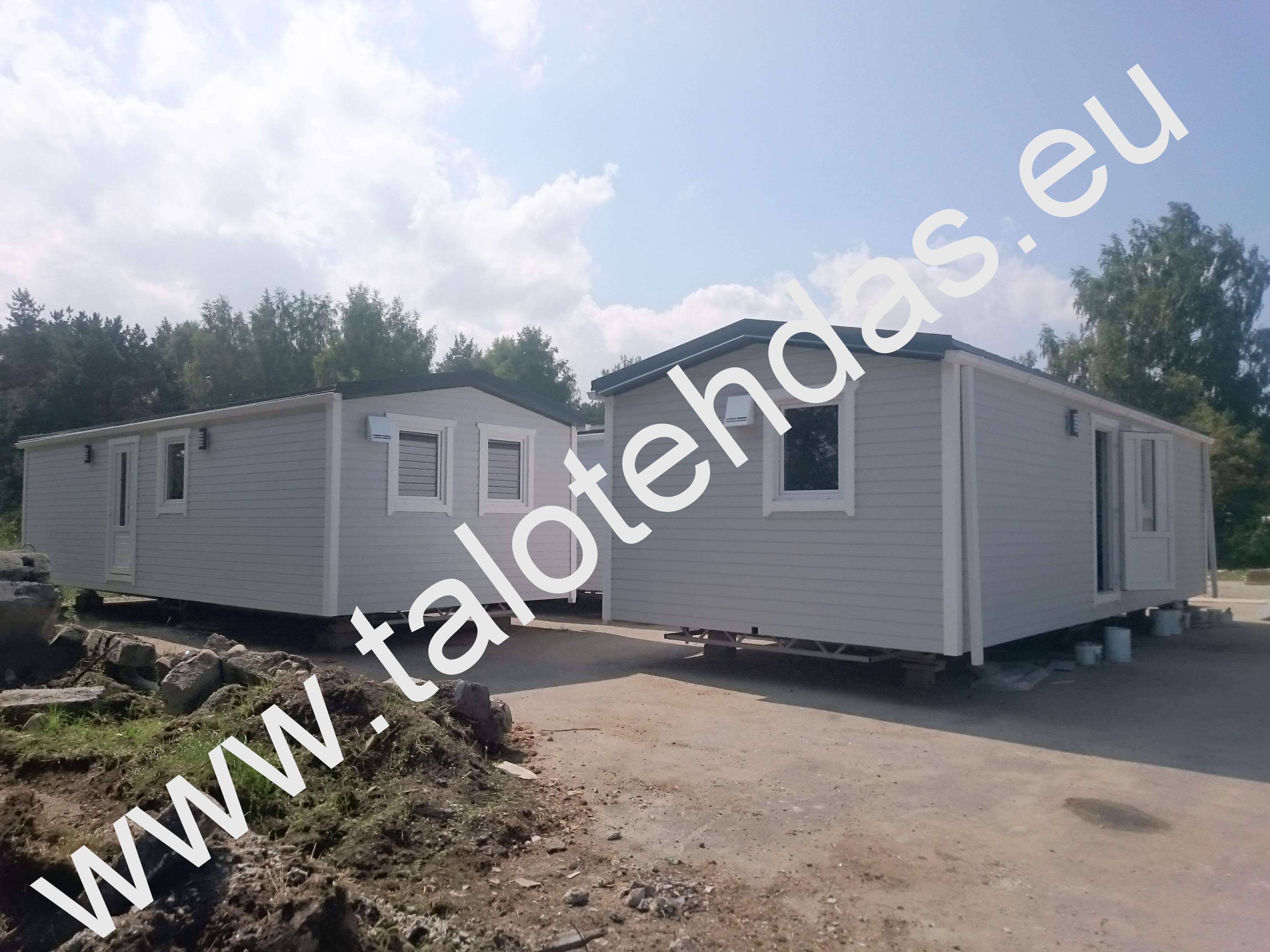 Talovaunu, mobile homes, 10x4, talotehdas.eu