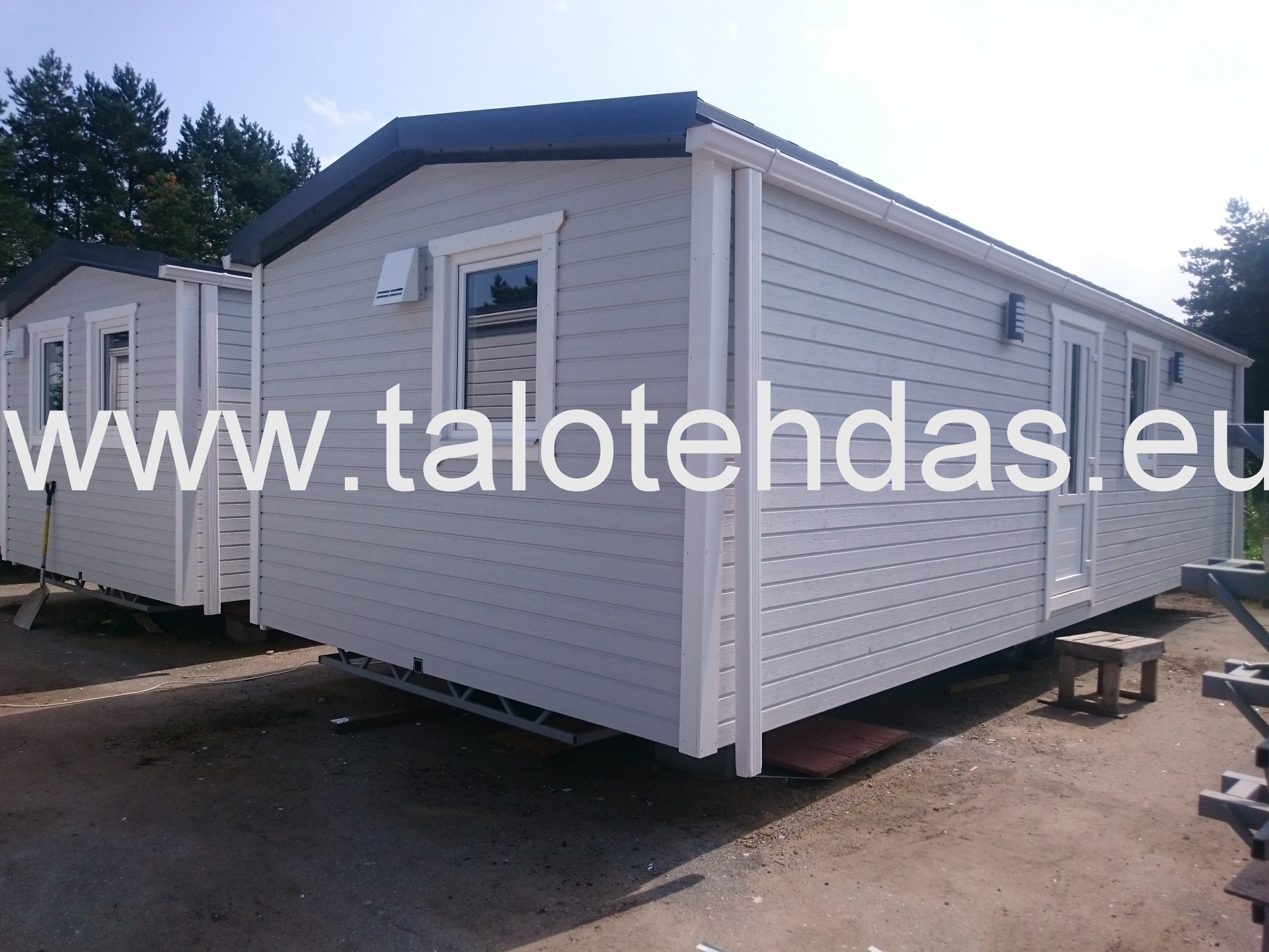 Talovaunu, mobile homes, 10x4 talotehdas.eu