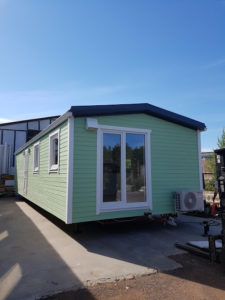 Talovaunu - mobile homes - villavagnar 12x4,3
