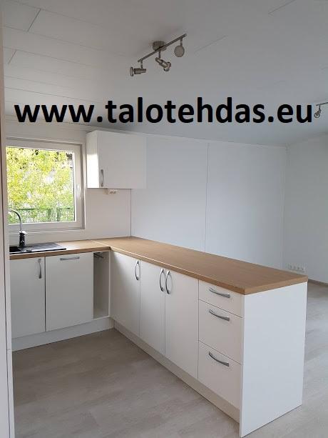 Mobile-home-12x43-kitchen-keittiö-kök-villavagnar-villavagn-mobileheime-talovaunu-parakki-työmaakoppi-toimisto-huvila-mökki-20180627_214119-talovaunut