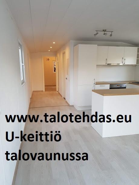 Talovaunu u-keittiö Tallinnassa www.talotehdas.eu