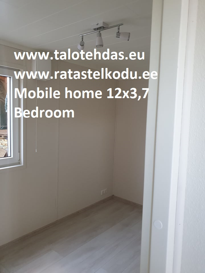 Talovaunu 12x3,7, mobile homes, villavagn, husvogn, mobile home