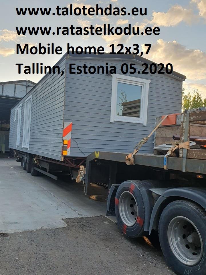 Talovaunu 12x3,7 toimituspaikka Tuusula, Suomi