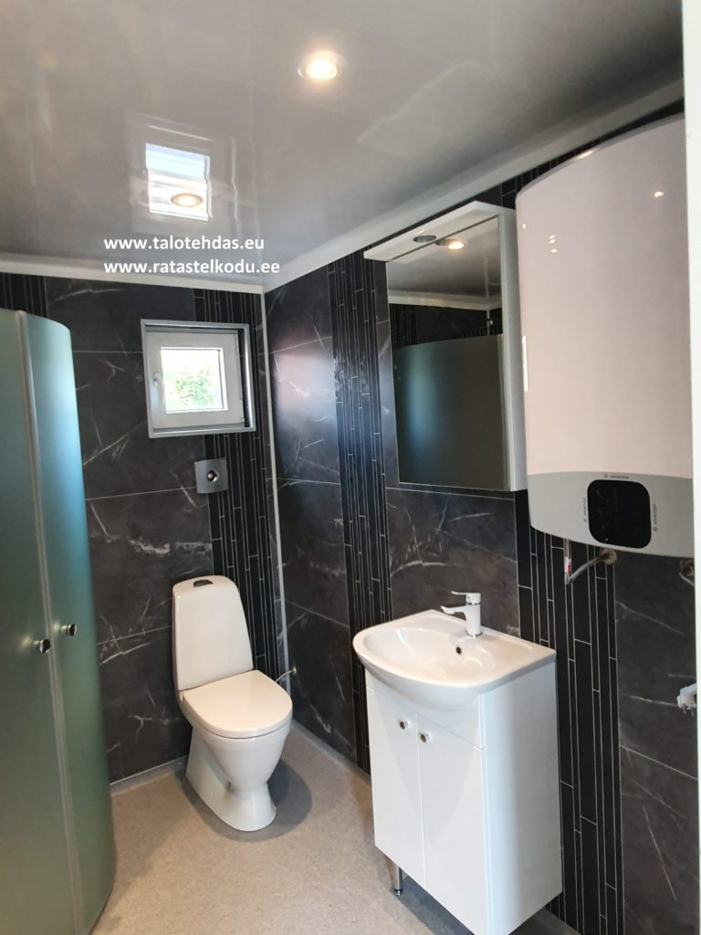 Talovaunu kylpyhuone
