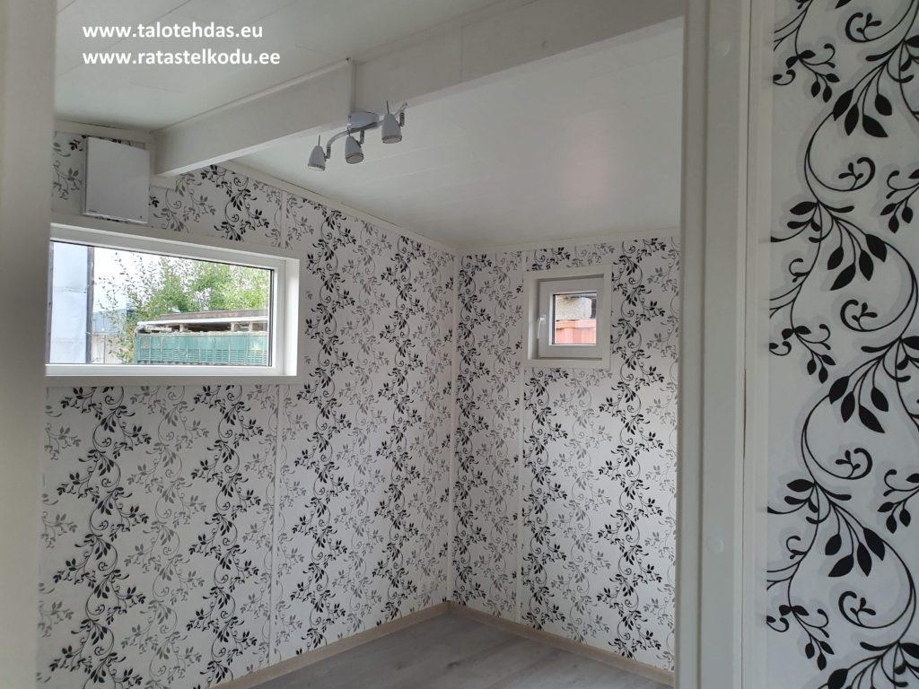 Talovaunu makuuhuone