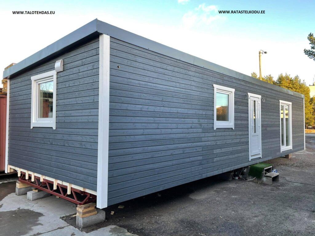 Talovaunu, talotehdas, ratastel maja, villavagn november 2020, talovaunu virosta