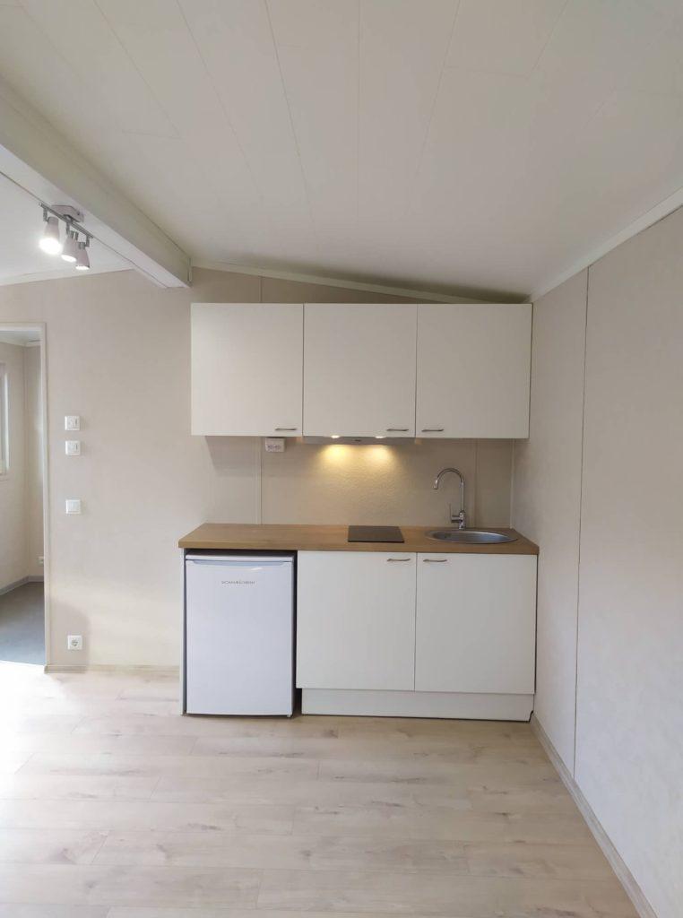 Talovaunu pieni keittio